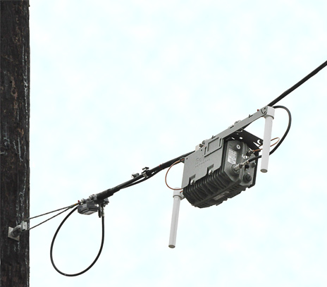 TWC WiFi Access Point on Wilshire Boulevard in Santa Monica